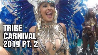 Trinidad Carnival 2019 - TRIBE Carnival Tuesday Part 2/3 - Socadrome Live