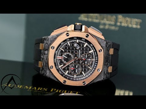 Unboxing Audemars Piguet Royal Oak Offshore Limited Edition QE II Carbon Watch 26406FR.OO.A002CA.01