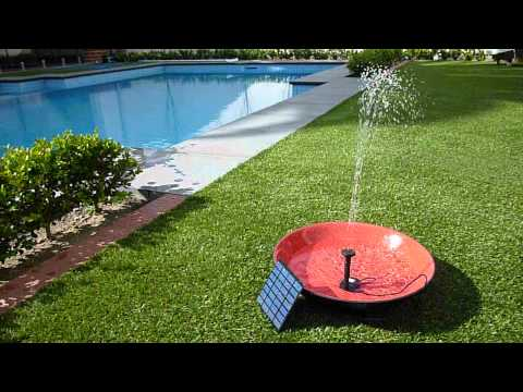 Solar Powered Water Fountain Pond Pump Kit