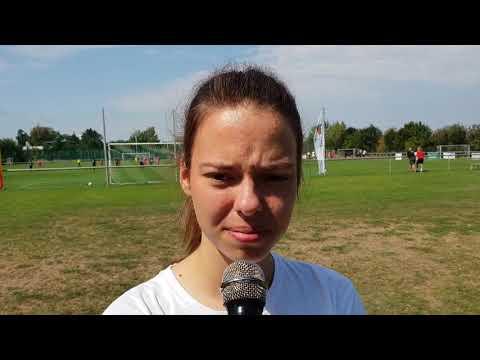 Zoja Sedláčková: V reprezentaci to bylo fajn, fotbal by mělo hrát co nejvíc holek