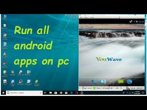 How to run android apps on pc with best android emulator#youwave