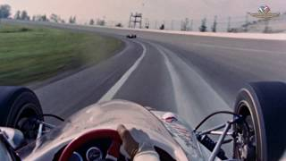 On-Board Lap w/ Mario Andretti from 1966 Indianapolis 500