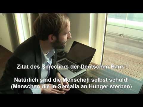 GIER: Banken-INSIDER Packt Aus - Geldsystem (EURO-KRISE 2011 BÖRSE Nahrungsmittel-Spekulation)