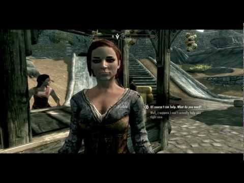 Skyrim Mod Reviews: Ysolda's Personal Time (Nudge nudge wink wink)