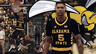 NBA 2K19 MyCareer - I Returned To College For A Day! Alabama State Get On Your Feet Baby!!!