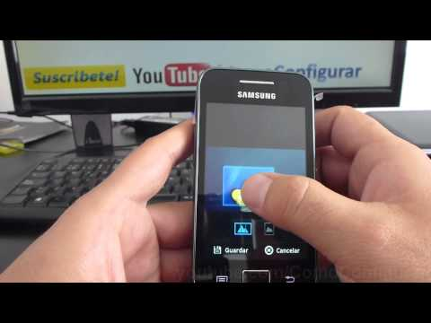 Como cambiar el tema de pantalla samsung galaxy Ace S5830 español Full HD