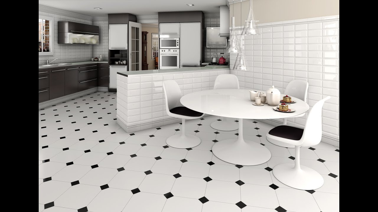 What are the best floor tiles for a kitchen