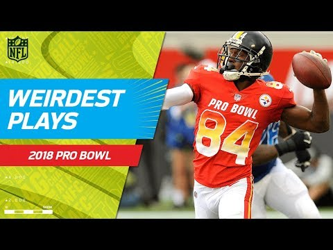 Weirdest Plays of the Game! | NFC vs. AFC | 2018 NFL Pro Bowl HLs