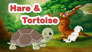 Hare & Tortoise | World Famous Story in Animation | Sing n Act by JingleToons