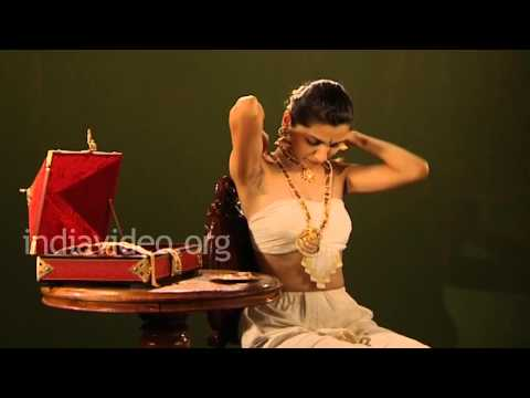 Bharatanatyam long chain