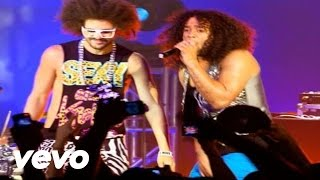 Клип LMFAO - Sorry For Party Rocking (live)