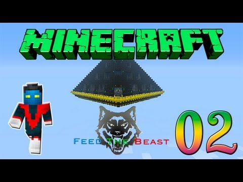 Minecraft Feed the Beast #2 - Expandindo a plataforma - Transmutation Tablet