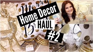 Home Decor Haul #2 | Burkes Outlet/Marshalls/Hobby Lobby 2015