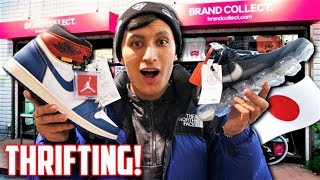 Thrift Shopping in JAPAN! SUPREME, BAPE, OFF WHITE, $1500 JORDANS