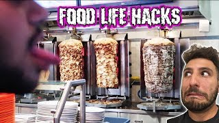 FOOD LIFE HACKS HOW TO GET FULL ON CHEAP FOOD