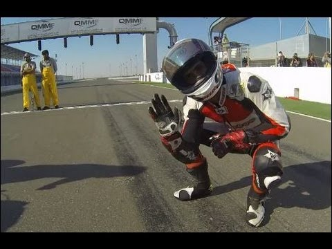 Onboard Losail : Qatar Superbike Championship Round3 Race 2 ( Full Race ) Ooredoo Racing