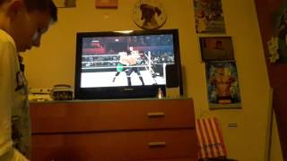 Wwe Road  to payback  seth rollins vs Samoa joe