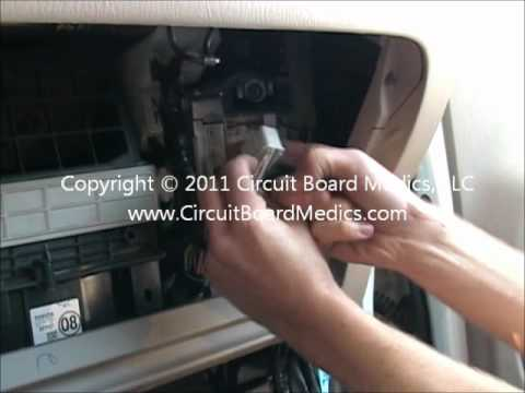 How To Remove And Repair a 2001. 2002. & 2003 Toyota RAV4 ECM ECU