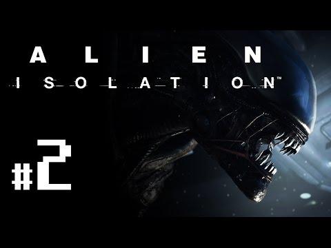 Alien: Isolation - Let's Play #2 - Sevastopol Arrivals