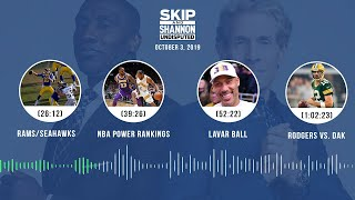 UNDISPUTED Audio Podcast (10.03.19) with Skip Bayless, Shannon Sharpe & Jenny Taft | UNDISPUTED