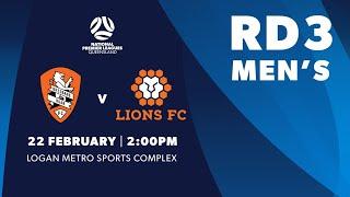 NPL Men's R3 Brisbane Roar Youth vs. Lions FC