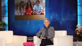 A Surprise for a Lovely Family of Ellen Fans