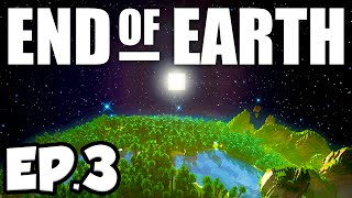 End of Earth: Minecraft Modded Survival Ep.3 - DANGEROUS LAVA LAKES!!! (Steve