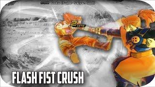 FLASH FIST CRUSH : DRAGON BALL XENOVERSE 2 MOVE REVIEWS / ANALYSIS  (DRAGON BALL XENOVERSE 2)