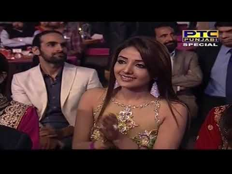 Diljit Dosanjh & Neeru Bajwa's Dance Performance | Ptc Punjabi Film Awards 2014 video