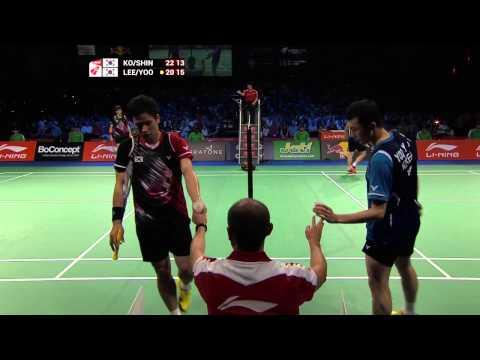 [HD] Final - MD - Ko S.H. / Shin B.C. vs Lee Y.D. / Yoo Y.S. - 2014 World Championships
