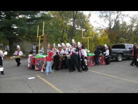 Clarenceville High School freshman float class of 2012