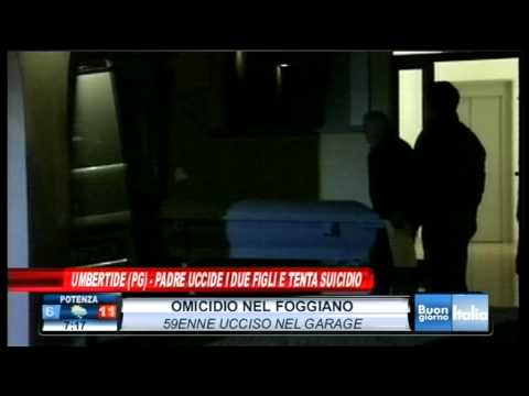 Duplice omicidio a Umbertide (Perugia) padre uccide due figli dopo separazione