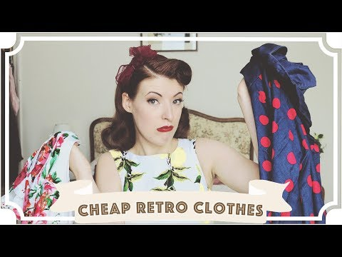 Cheap Vintage/Retro Clothes: Is It Worth It? [CC]