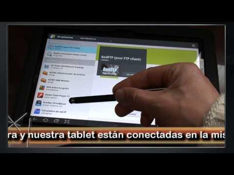Imprimir por wifi desde una tablet Samsung Galaxy 10.1