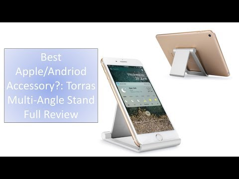 Best Apple/Andriod Accessory?:Torras Multi-Angle Stand Holder Unboxing/ Review