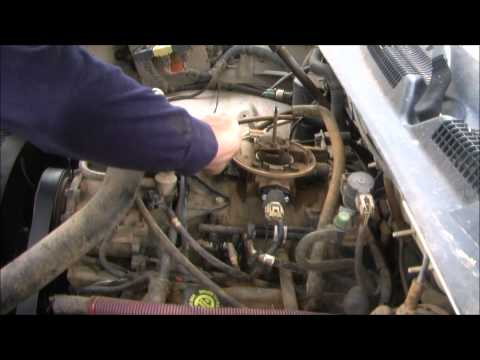 1998 Dodge Dakota Manifold Absolute Pressure (MAP) Sensor Test and Replace