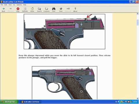 Small caliber Colt Pistols explained - HLebooks