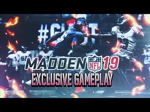 EXCLUSIVE MADDEN NFL 19 GAMEPLAY - WASHINGTON VS. NEW ENGLAND FRANCHISE