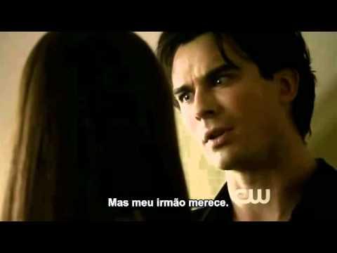 Diario do vampiro Episodio Rose (2X8) - Damon se declara para Elena - Legendado
