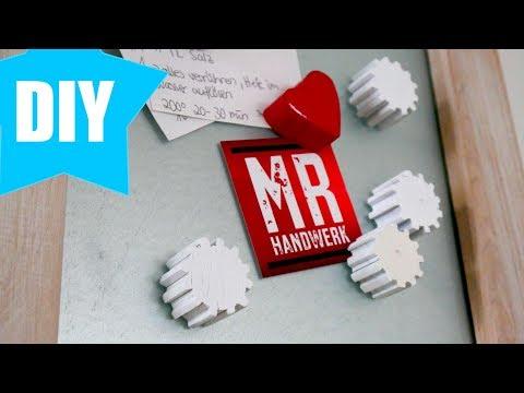 ✅ Magnettafel aus Massiv Holz selber bauen ! Anleitung