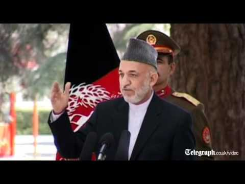 Hamid Karzai tells Nato not to act as occupier