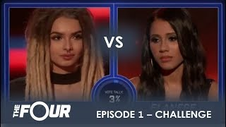 Download Song Zhavia vs Elanese: They Fight For Their Future in CRAZY Showdown | S1E1 | The Four Free StafaMp3