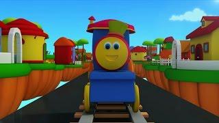 bob o trem   trem de transporte   desenho animado   Bob Transport Train   Video For Kids