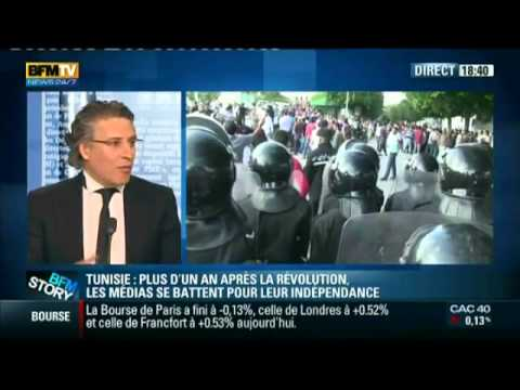 Interview de Mr Nabil Karoui sur BFM TV le 26 avril 2012