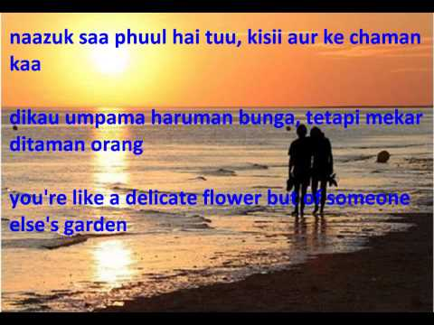 O Nanhe Se Farishtey - Ek Phool Do Mali + Lyrics + Translation...