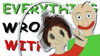 Everything Wrong With Baldi's Basics in Education and Learning in 7 and Half Minutes