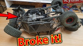 UDR + E-Revo 2.0 + X-Maxx Traxxas RC Cars Wrecked - Whats to come.......