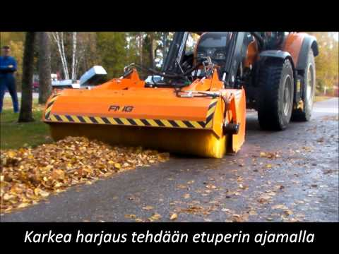 FMG kauhaharja, bucket sweeper KH240