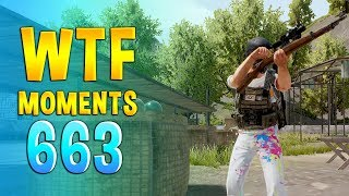 PUBG WTF Funny Daily Moments Highlights Ep 663