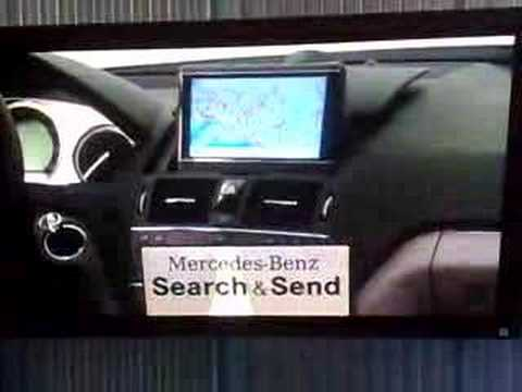 2008 Mercedes-Benz C-Class Multimedia with Search & Send